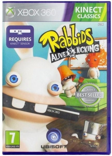 Raving Rabbids Alive & Kicking (Kinect ready) - Xbox 360 - Console Game
