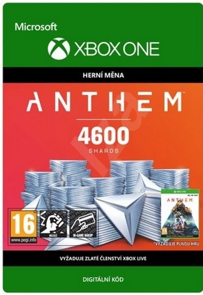 Anthem: 4600 Shards Pack - Xbox One Digital - Gaming Accessory