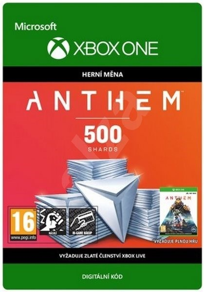 Anthem: 500 Shards Pack - Xbox One Digital - Gaming Accessory