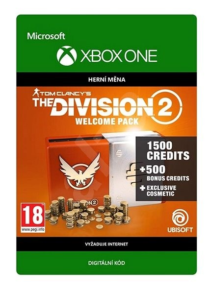 Tom Clancy's The Division 2: Welcome Pack - Xbox One Digital - Gaming Accessory