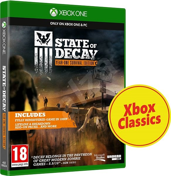 Xbox One - State of Decay: One Year Survival Edition