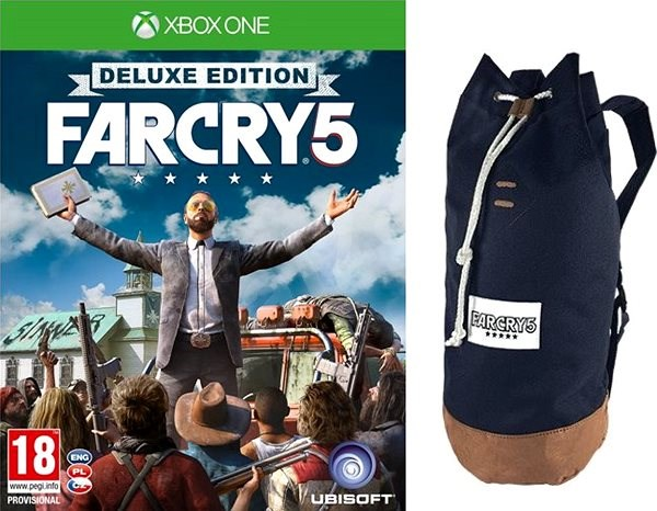 a3083b2bf658 Far Cry 5 Deluxe Edition + Original Backpack - Xbox One - Console ...