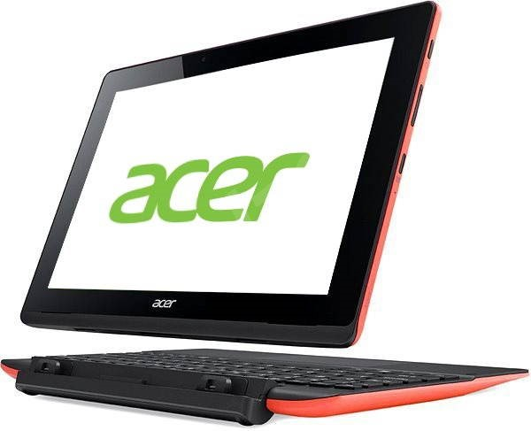 Acer Aspire Switch 10E + 64 gigabytes to 500 gigabytes HDD dock and keyboard Red Black - Tablet PC