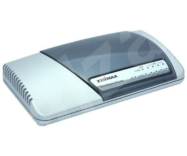 Edimax BR-6104S, Router & 4x 10/100 Switch; WAN: RJ45, DHCP,PPP,NAT -