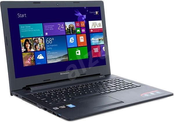 Lenovo IdeaPad G50-80 Black backpack + free for students ISIC - Laptop