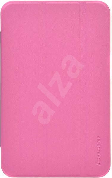 Lenovo IdeaTab A1000 Folio Case and Film Pink  - Tablet Case