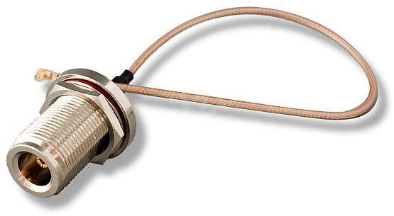 Reduction (pigtail), 2.4/5GHz, N-Female to U.FL-Female - Adapter