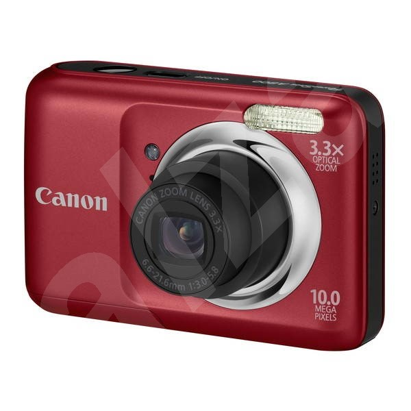 CANON PowerShot A800 red - Digital Camera