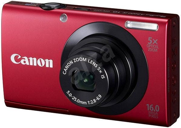 Canon PowerShot A3400 red - Digital Camera