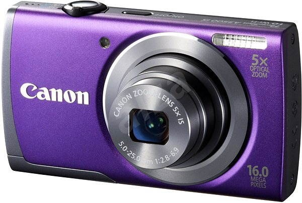 Canon PowerShot A3400 IS purple - Digital Camera