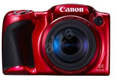 Canon PowerShot SX410 IS red - Digital Camera