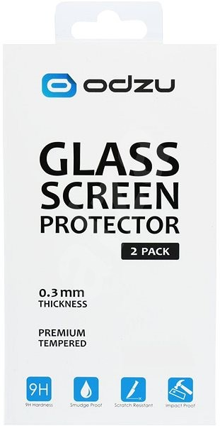 Odzu Glass Screen Protector 2pcs Xiaomi Redmi Note 4 - Glass protector