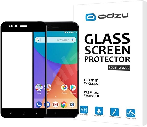 Odzu Glass Screen Protector E2E Xiaomi Mi A1 - Glass protector