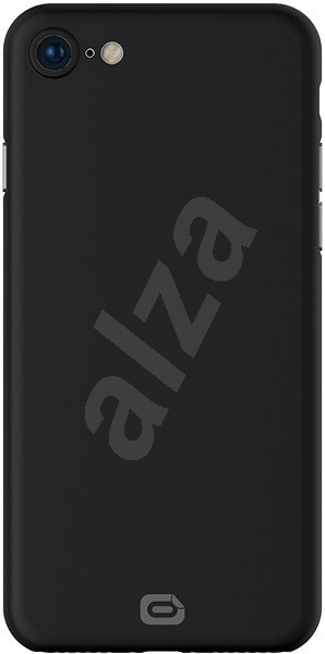 Odzu Crystal Thin Case Black iPhone 8 - Mobile Case