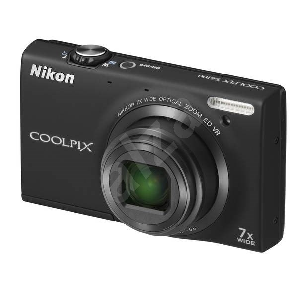 Nikon COOLPIX S6100 black - Digital Camera