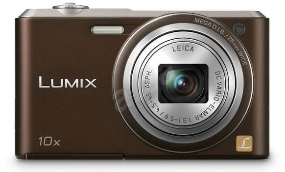 Panasonic LUMIX DMC-SZ3 brown - Digital Camera