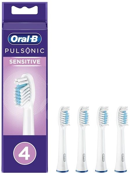 Oral-B Pulsonic Sensitive, 4 pcs - Replacement Head