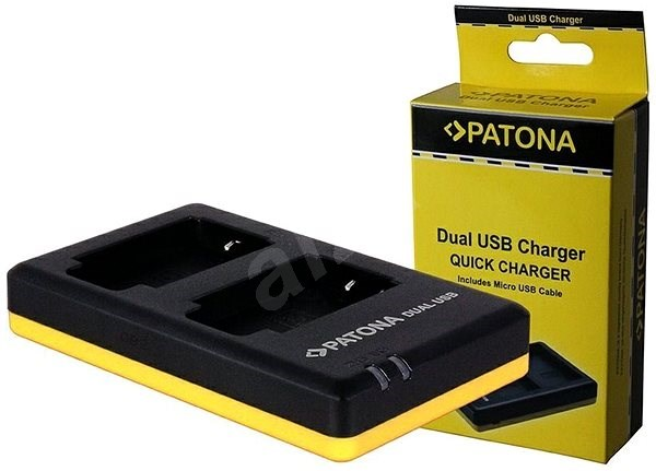 PATONA Photo Dual Quick Olympus PS-BLN1 - Battery Charger