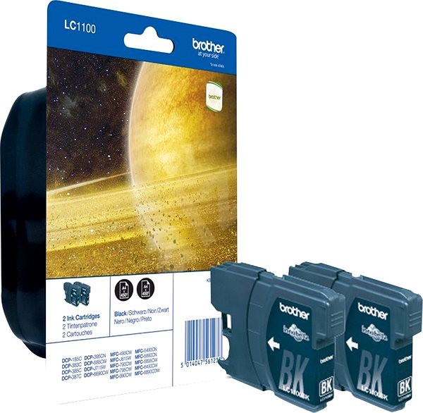 Brother LC-1100 Twin Pack - Cartridge