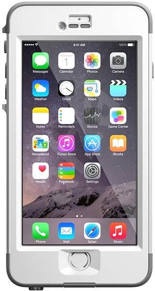 LifeProof nuud white/gray  - Mobile Phone Case