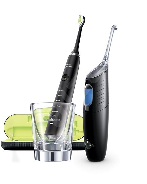 Philips Sonicare DiamondClean and AirFloss Ultra Black HX849103