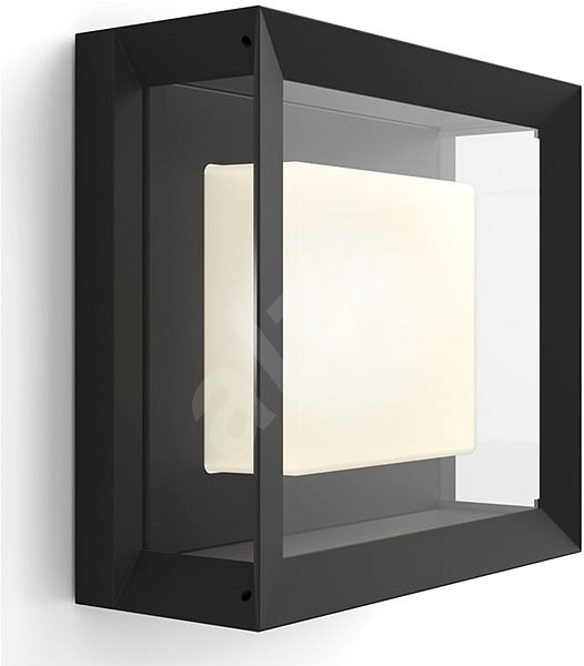 Philips Hue White and Color Ambiance Econic 17438/30/P7 - Wall Lamp