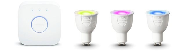 Philips Hue White and Color Ambiance 6,5W GU10 Promo Starter Kit - LED bulb