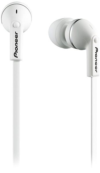 Pioneer SE-CL712T-W white - Headphones with Mic