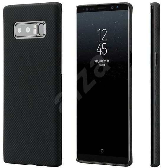 Pitaka Aramid Case Black/Grey for Samsung Galaxy Note 8 - Mobile Case