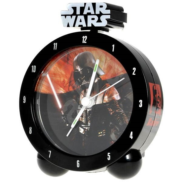 PRIME Star Wars Darth Vader Lights and Sounds Alarm Clock -