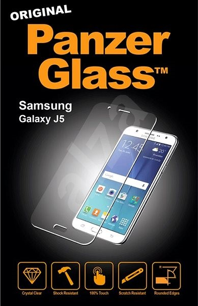 PanzerGlass Edge-to-Edge for Samsung Galaxy J5 (2017) clear - Glass protector