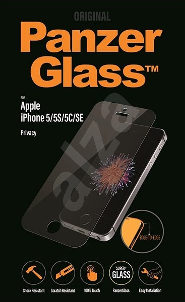 PanzerGlass Edge-to-Edge Privacy for Apple iPhone 5/5s/SE - Glass protector