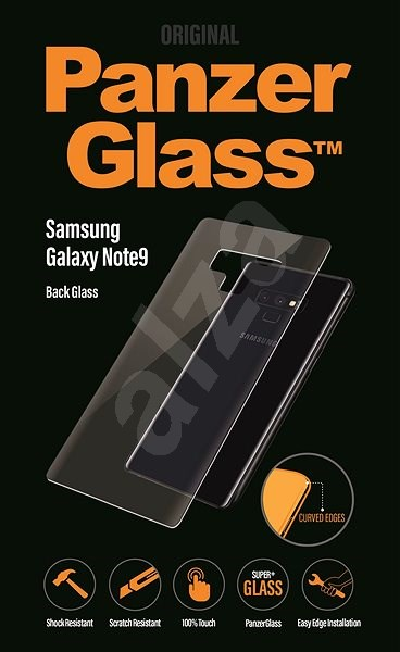 PanzerGlass Edge-to-Edge for Samsung Galaxy Note9 Rear Panel Glass Protector - Glass protector