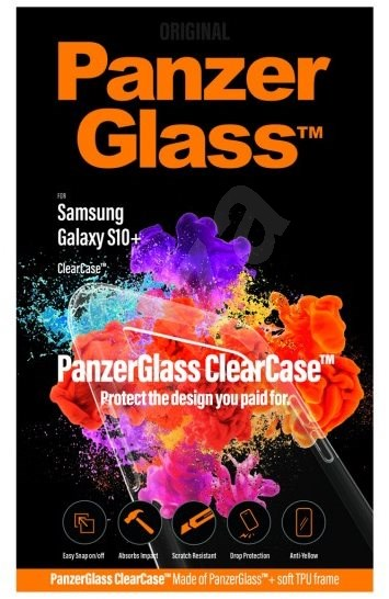 PanzerGlass ClearCase for Samsung Galaxy S10 + - Mobile Case