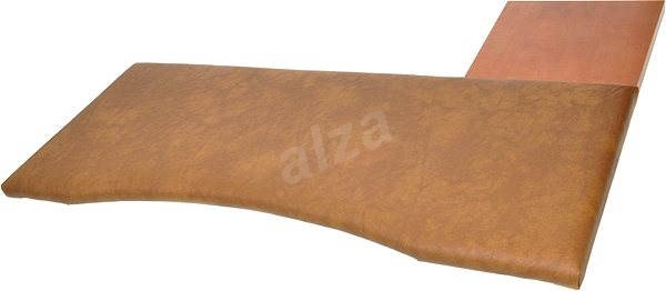 Pad ergonomic to keyboard and mouse, size 3, brown - Wrist Rest