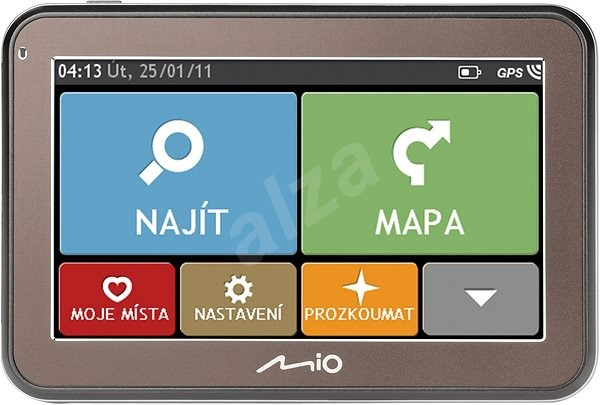 MIO Spirit 5400 Lifetime Europe - GPS Navigation