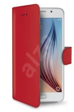CELLY WALLY490RD red - Mobile Phone Case