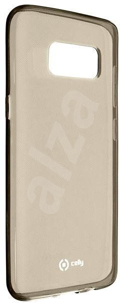 CELLY Gelskin for Samsung Galaxy S8, Black - Rear Cover