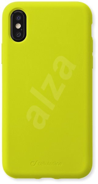 CellularLine SENSATION for Apple iPhone X/XS Lime Neon - Mobile Case