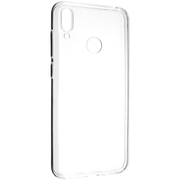 FIXED Skin for Huawei Y7 (2019) Clear - Mobile Case