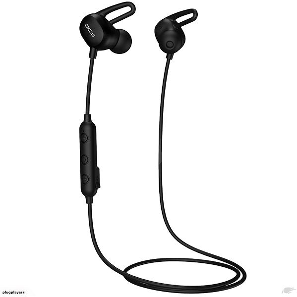 QCY E2 black - Headphones with Mic