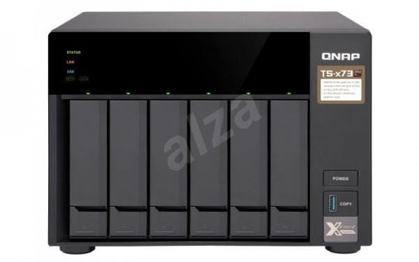 QNAP TS-673-8G - Data Storage Device