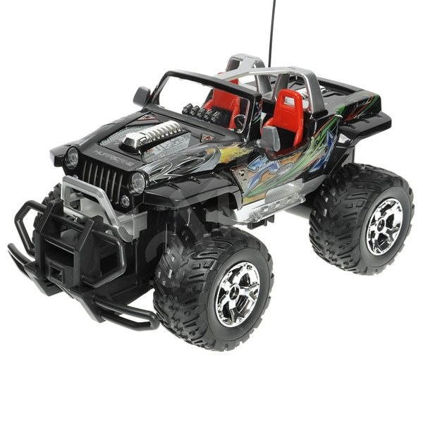 Force Jeep černý - RC model