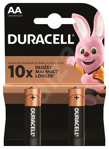 Duracell Basic AA 2pcs - Disposable batteries