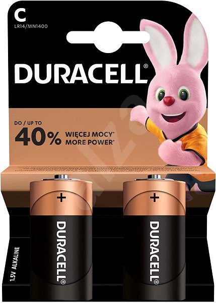 Duracell Basic LR14 2pcs - Disposable batteries