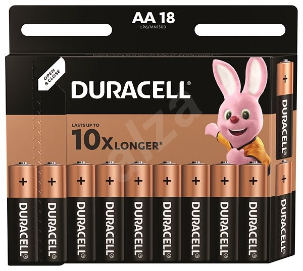 Duracell Basic AA 18-Pack - Disposable batteries