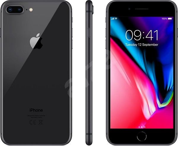 3ef03bbd8f7c8c iPhone 8 Plus 64GB Space Grey - Mobile Phone | Alza.co.uk