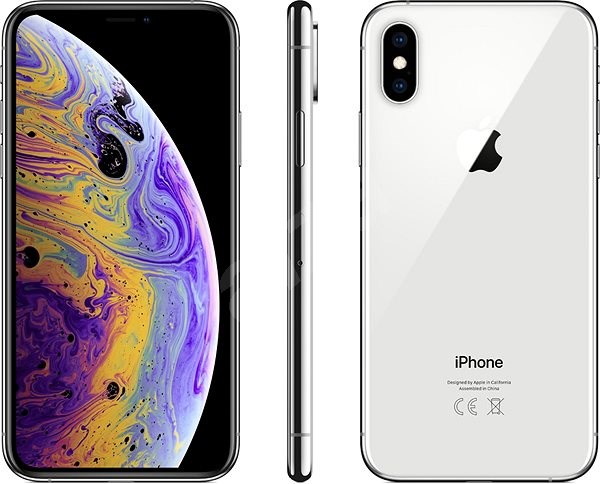 iPhone Xs 256GB Silver - Mobile Phone