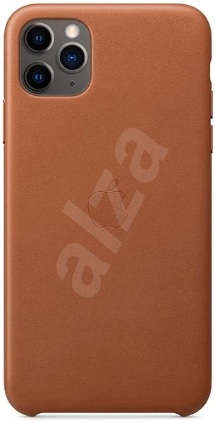 Apple iPhone 11 Pro Max Leather Cover, Saddle Brown - Mobile Case
