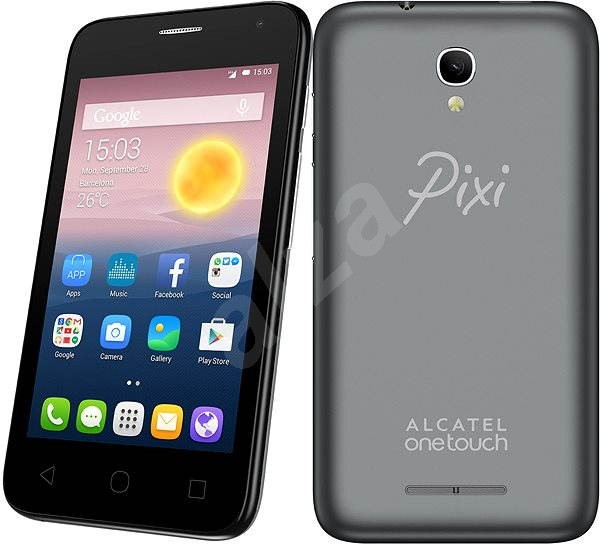 ALCATEL ONETOUCH 4024D PIXI FIRST Slate Dual SIM - Mobile Phone